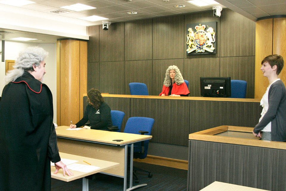 VOICES courtroom