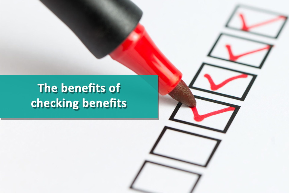 VOICES benefits of checking benefits