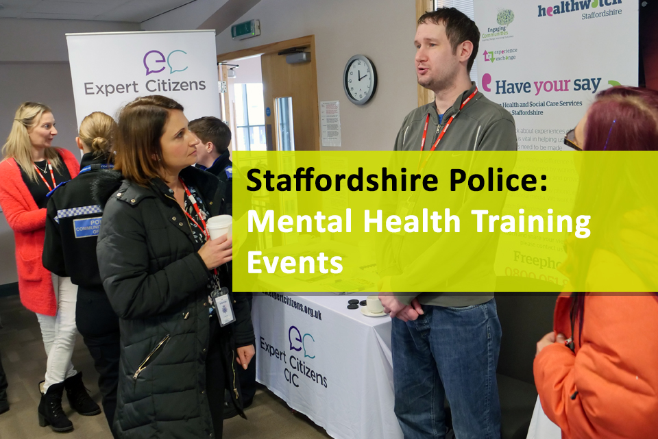 VOICES police mental health event