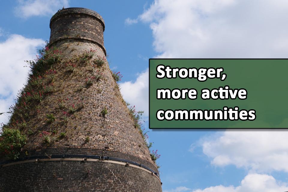 VOICES stronger more active communities