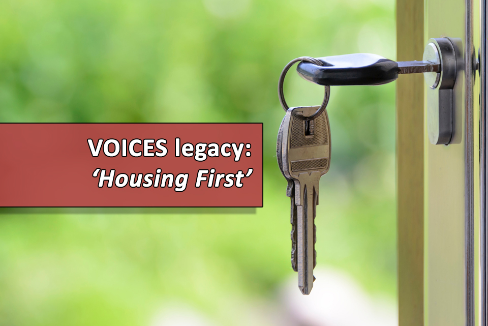 VOICES housing first